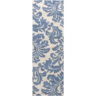 "Surya Athena Slate Blue (ATH-5076) Rectangle 2'6"" x 8'0"""