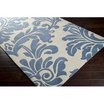 "Surya Athena Slate Blue (ATH-5076) Rectangle 6'0"" x 9'0"""