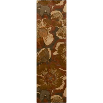 "Surya Athena Sepia (ATH-5102) Rectangle 2'6"" x 8'0"""