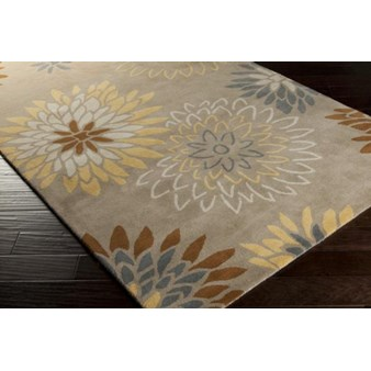 "Surya Athena Pussywillow Gray (ATH-5106) Square 1'6"" x 1'6"""