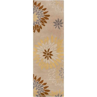 "Surya Athena Pussywillow Gray (ATH-5106) Rectangle 2'6"" x 8'0"""