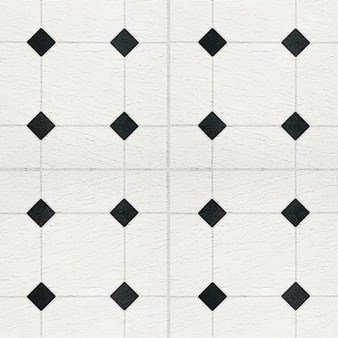Armstrong Peel N Stick Afton Series: Diamond Jubilee Black/White Residential Vinyl Tile 24320