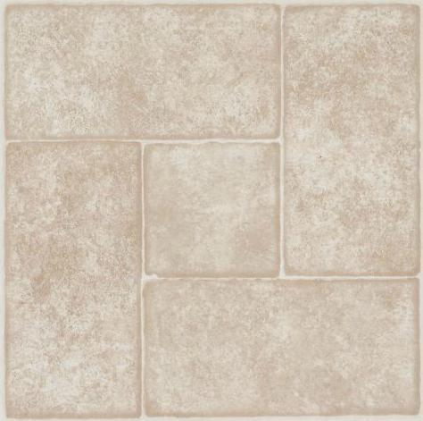 Ivory bathroom tiles tile mountain - Armstrong Peel N Stick Afton Series Luxury Vinyl Tile