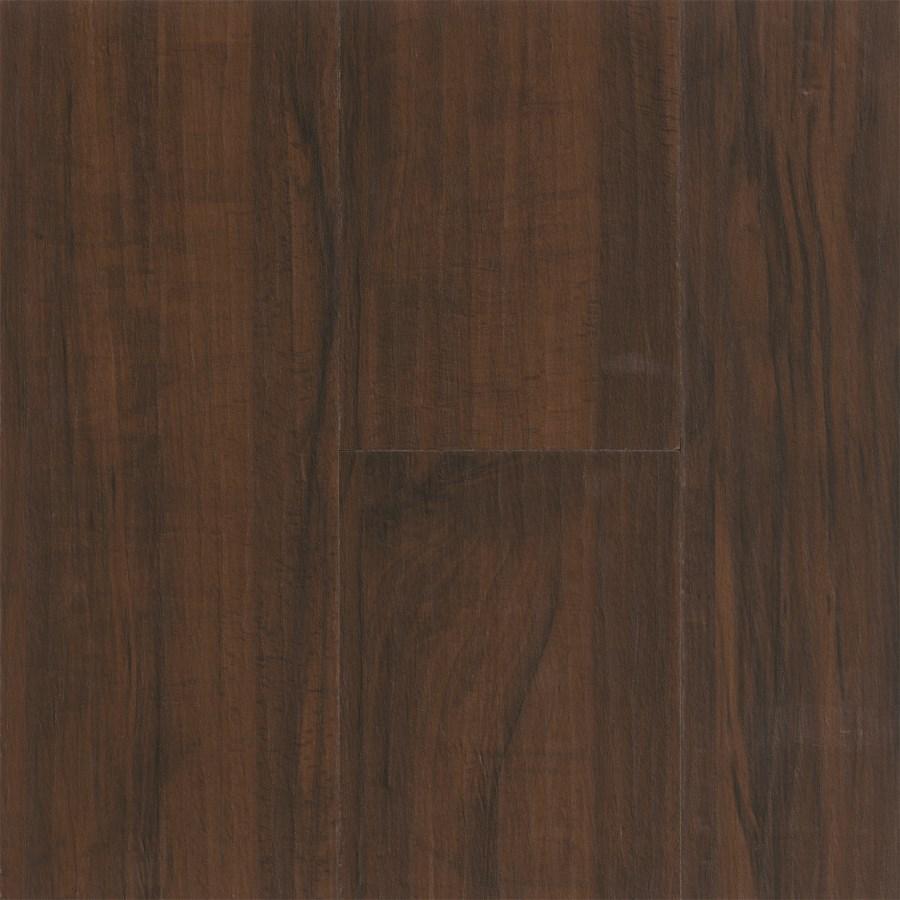 Tarkett Nafco Permastone Plank: Handscraped Mocha Luxury Vinyl Plank HS105