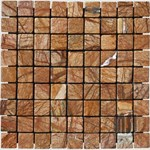 "MS International Cafe Forest Marble Mosaic 12"" x 12"" : SMOT-CAF-1X1-T"