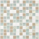"Daltile Coastal Keystone Mosaic 12"" x 12"" : Trade Wind Blend CK86 11PM1P"