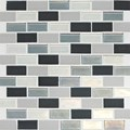 "Daltile Coastal Keystone Brick-Joint Mosaic 12"" x 12"" : Tropical Thunder Blend CK88 21BJPM1P"