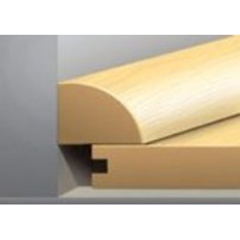 "Tarkett Solutions: Quarter Round Brookside Maple - 94"" Long"