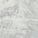 "Daltile Marble: Carrara White CD Honed 12"" x 12"" Natural Stone Tile M701-12121U"