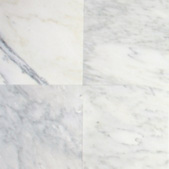 "Daltile Marble: First Snow Polished 12"" x 12"" Natural Stone Tile M190-12121L"