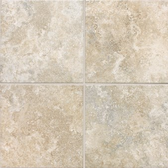 "Daltile San Michele: Crema Cross-Cut 18"" x 18"" Porcelain Tile SI3018181P6"