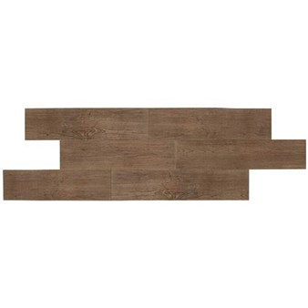 "Daltile Terrace: Walnut 6"" x 36"" Porcelain Tile P1036361P"
