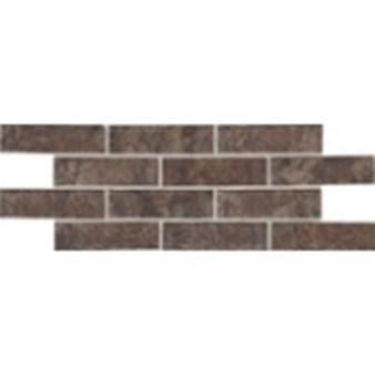 "Daltile Union Square: Paver Cobble Brown 4"" x 8"" Porcelain Tile US04481P"
