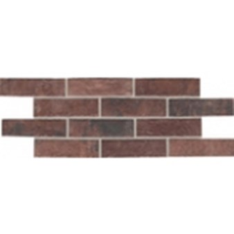 "Daltile Union Square: Paver Courtyard Red 4"" x 8"" Porcelain Tile US03481P"
