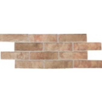 "Daltile Union Square: Paver Heirloom Rose 4"" x 8"" Porcelain Tile US02481P"
