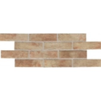 "Daltile Union Square: Paver Terrace Beige 4"" x 8"" Porcelain Tile US01481P"