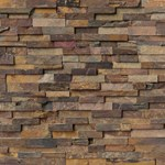 "MS International California Gold Ledger Panel 6"" x 24"" Natural Slate Wall Tile : LPNLSCALGLD624"