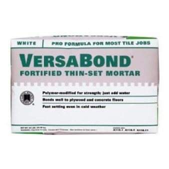 Versabond Fortified Thin-Set Mortar MTSW50 - White 50 lb