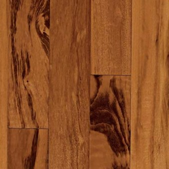 "Indusparquet Solid Exotic: Tigerwood 3/4"" x 4"" Solid Hardwood IPPFTW4"