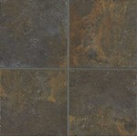 "Mannington Antiquity: Iron Gate 12"" x 12"" Porcelain Tile AQ0T12"