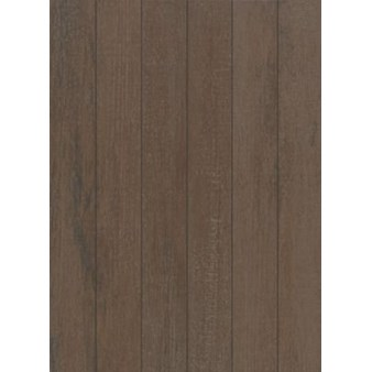 "Mohawk Stage Pointe: Natural Chocolate 3"" x 24"" Ceramic Tile 15427"