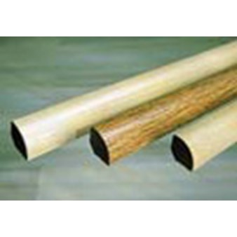 "Columbia Calistoga Clic: Quarter Round Cellar Springs Hickory - 94"" Long"