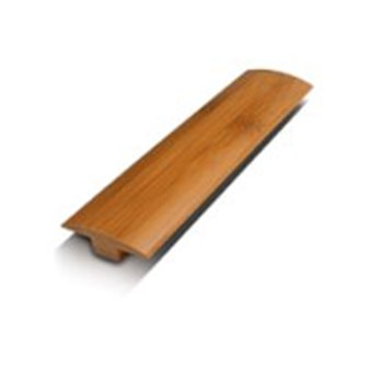 "ECOfusion Strandwoven Bamboo: T-mold Light Carbonized - 72 7/8"" Long"