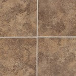 "American Olean Montego: Pebble Brown 18"" x 18"" Porcelain Tile MG971818P"