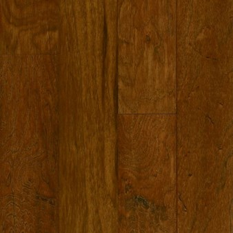 "Armstrong American Scrape: Autumn Blaze 3/8"" x 5"" Engineered Hickory Hardwood EAS501"