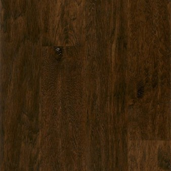 "Armstrong American Scrape: Smokehouse 3/8"" x 5"" Engineered Hickory Hardwood EAS508"
