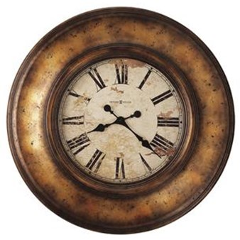 Howard Miller 625-540 Copper Bay Wall Clock