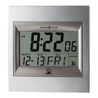 Howard Miller 625-236 Techtime II Non-Chiming Wall Clock