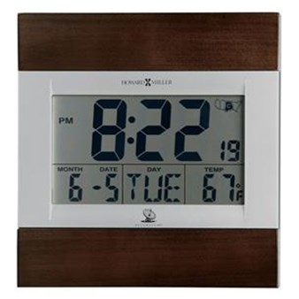 Howard Miller 625-429 Techtime III Non-Chiming Wall Clock