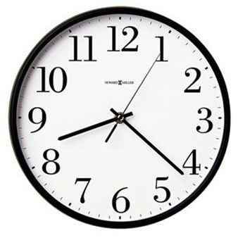 Howard Miller 625-254 Office Mate Non-Chiming Wall Clock