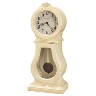 Howard Miller 635-163 Audrey Mantel Sofa Table Clock