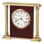 Howard Miller 645-104 Rosewood Encore Bracket Table Top Clock