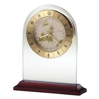 Howard Miller 645-603 World Time Arch Table Top Clock