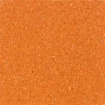Armstrong ChromaSpin VCT: Brilliant Orange Vinyl Composite Tile 54820