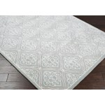 "Surya Candice Olson Modern Classics Dove Gray (CAN-1907) Square 1'6"" x 1'6"""
