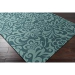"Surya Candice Olson Modern Classics Teal Blue (CAN-2047) Rectangle 3'3"" x 5'3"""
