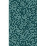"Surya Candice Olson Modern Classics Teal Blue (CAN-2047) Rectangle 5'0"" x 8'0"""