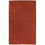 "Surya Cirrus Brick Red (CIRRUS-5) Rectangle 5'0"" x 8'0"""