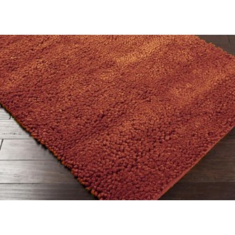"Surya Cirrus Brick Red (CIRRUS-5) Square 0'6"" x 0'6"""