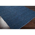 "Surya Continental Midnight Blue (COT-1935) Rectangle 8'0"" x 11'0"""