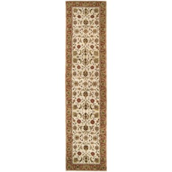 "Surya Crowne Parchment (CRN-6004) Rectangle 3'0"" x 12'0"""