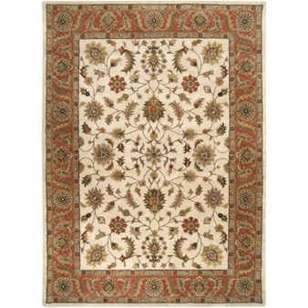 "Surya Crowne Parchment (CRN-6004) Rectangle 8'0"" x 11'0"""