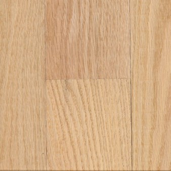 "Unfinished Red Oak Select and Better 3/4"" x 3 1/4"" Solid Hardwood"
