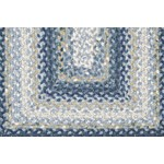 "Surya Country Living Cottage Braids Midnight Blue (CTG-4508) Rectangle 4'0"" x 6'0"""