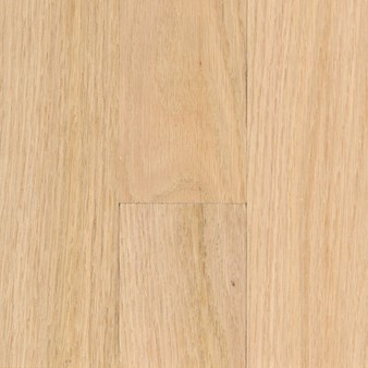 "Unfinished Red Oak: Select and Better 3/4"" x 2 1/4"" Solid Hardwood"