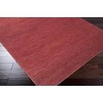 "Surya Dominican Maroon (DOC-1010) Square 1'6"" x 1'6"""